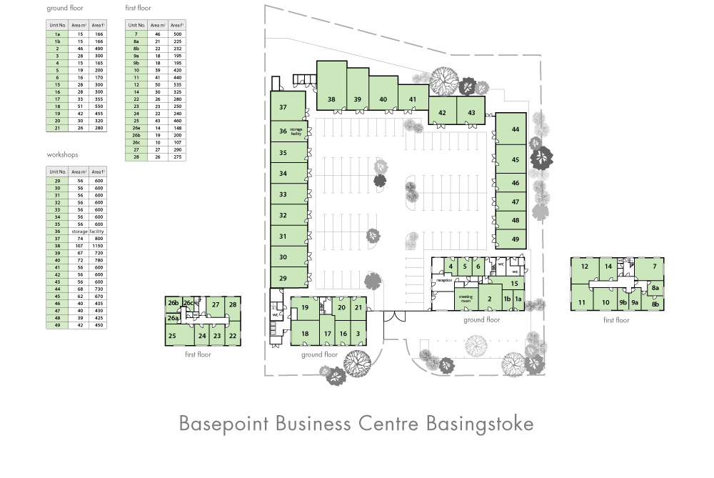 Basingstoke Site Plan