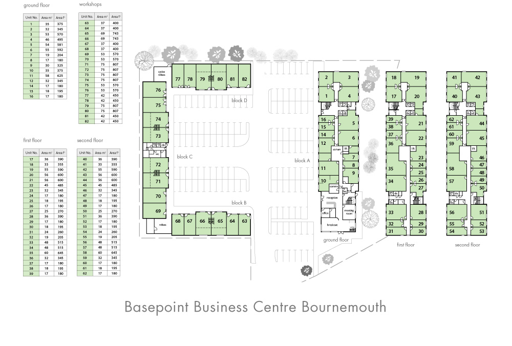 Bournemouth Site Plan