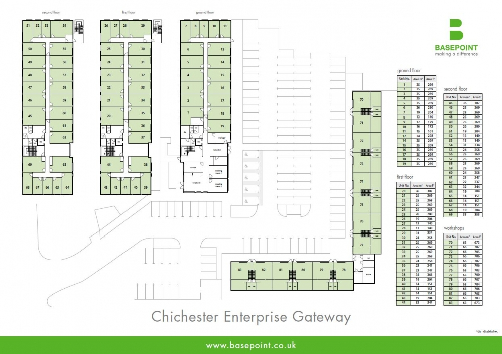 Chichester Site Plan
