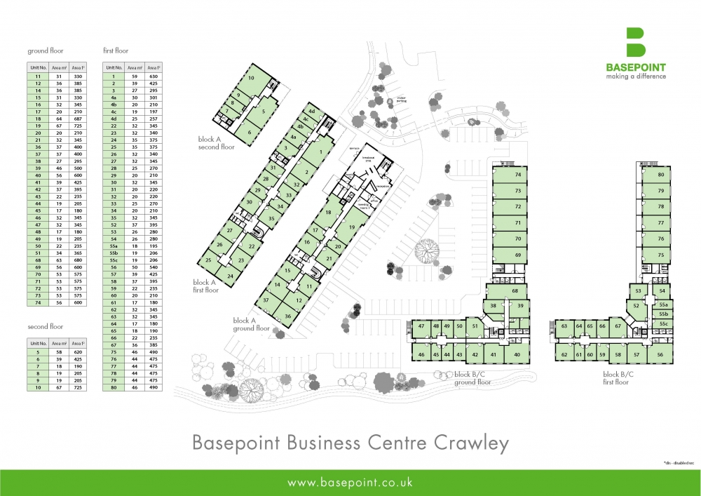 Crawley Site Plan