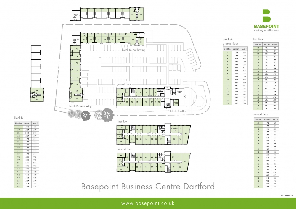 Dartford Site Plan