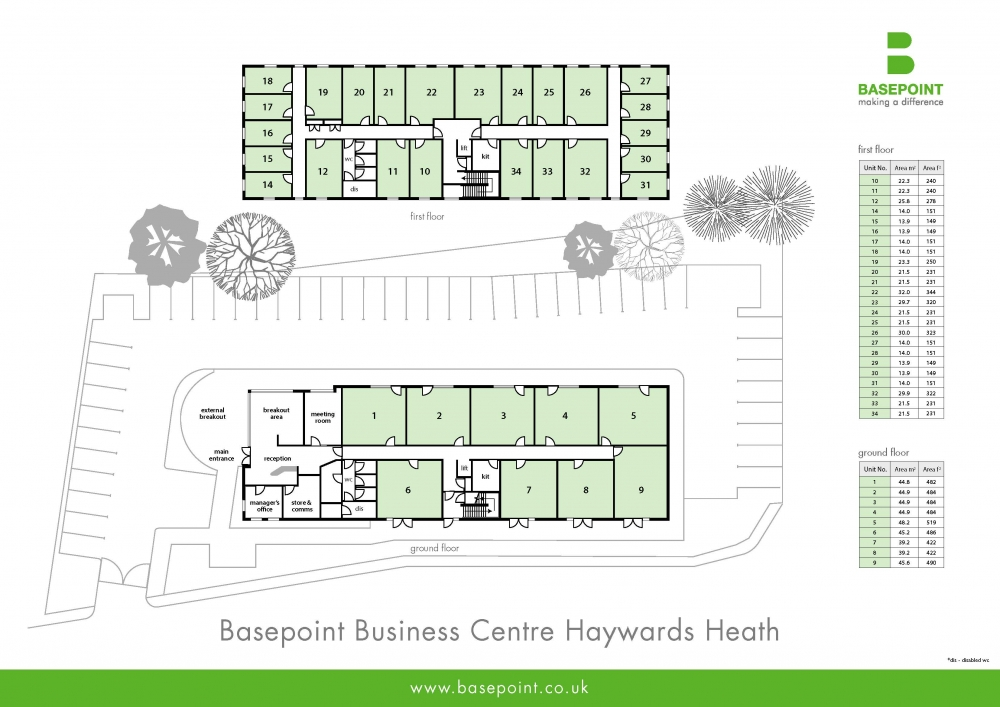 Haywards Heath Site Plan