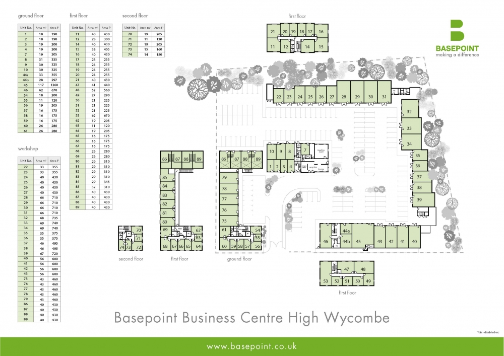 High Wycombe Site Plan
