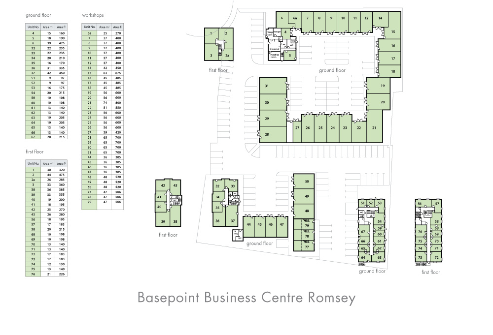 Romsey Site Plan