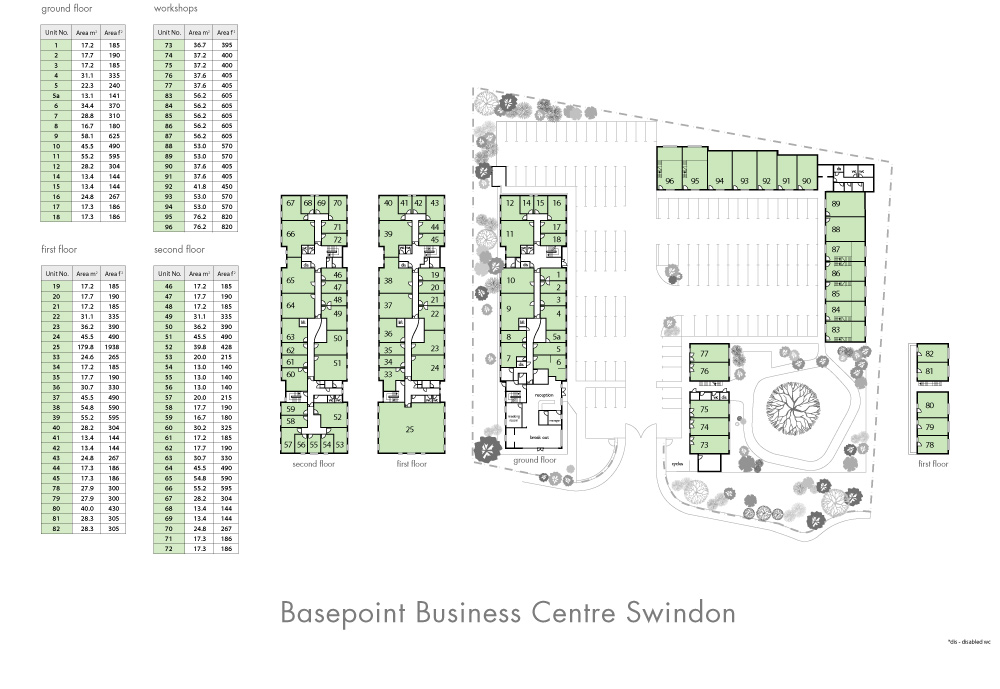 Swindon Site Plan