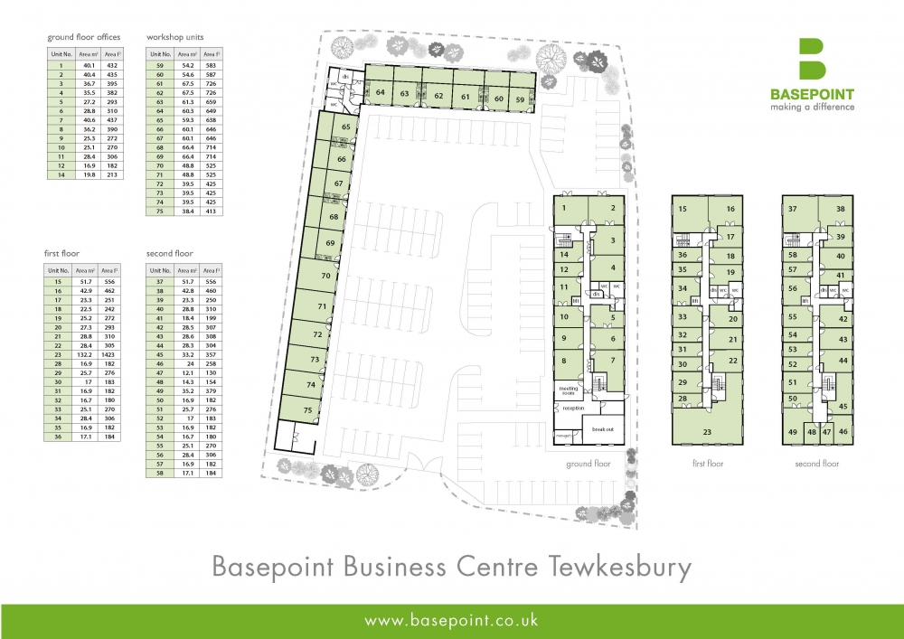 Tewkesbury Site Plan
