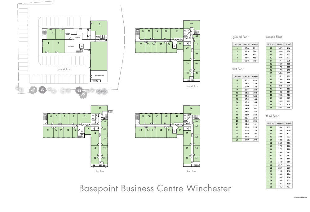 Winchester Site Plan