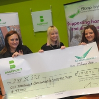 Camberley Cheque Presentation