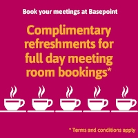 Free Tea and Coffee for meeting room bookings